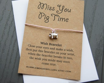 missing you small gift life is tough Will you be my Valentine? gift lock down good luck wish bracelet little pocket hug quote gift