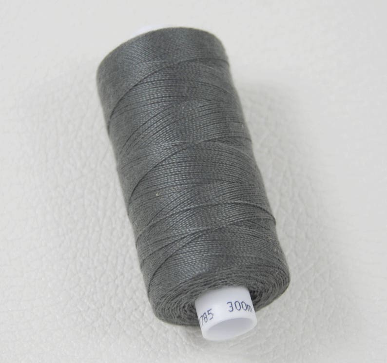 Small coil special strong thread for jeans and leather 300 meters