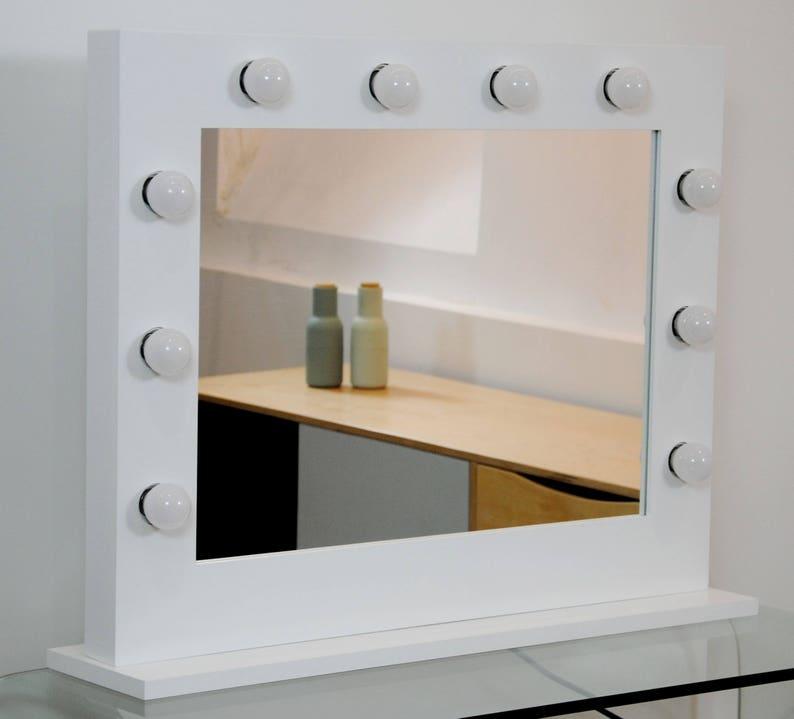 Specchi Professionali Per Trucco.Specchio Per Il Trucco Specchio Luminoso Specchio Con Luce Etsy