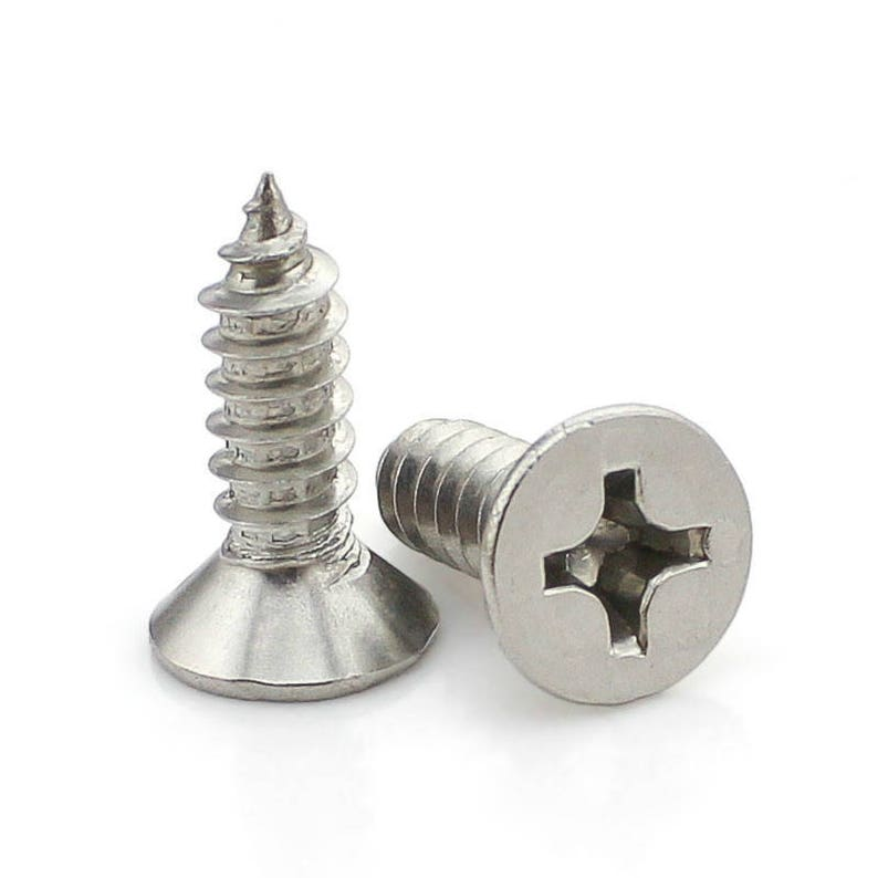 M2 - O2mm x 8mm small screw fixing DIY accessory handle cardboard and frame