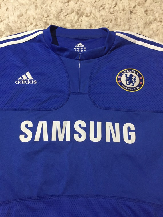 Classic Adidas England Chelsea Soccer Jersey XL