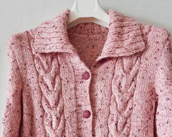 f17f771fb036 Pink tweed jacket