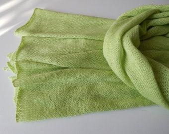 Handgestrickte Dreieckstücher-Stolen-Tücher-Schals aus Seide,Mohair,Kamel,Alpaka