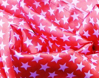 25 * 25CM PRINTINGS STAR COLOR ORANGE WORK CRAFTS SEWING SCRAPBOOKING...