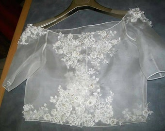 Organza Wedding Wrap.