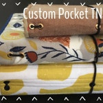 Pocket Foxtail Threads Quilted Traveler's Notebook