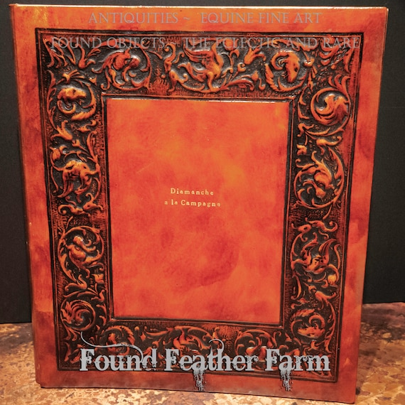 A Lovely Embossed Leather Photo Album