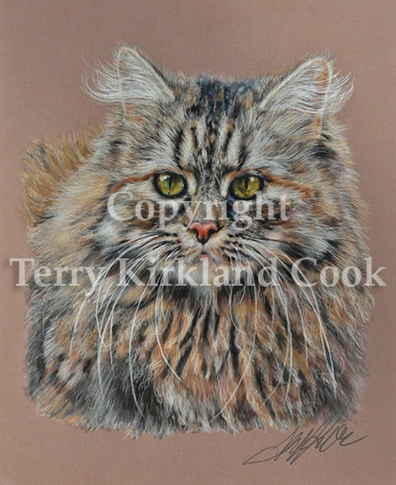 Sabrina ~ Fine Art Giclee Print of an Original Copyrighted Painting by Terry Kirkland Cook