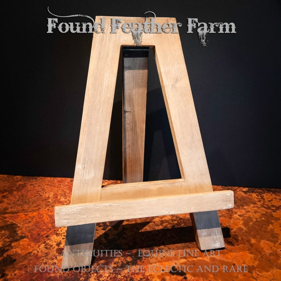 Handmade Wooden Display Easel
