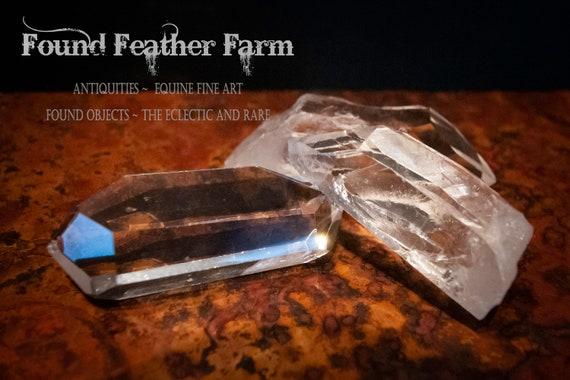 A Set of Three Beautiful Quartz Point Crystals