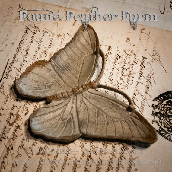 Pewter Butterfly Jewelry Dish with a Zinc Finish