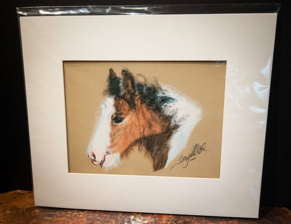 "Fine Art Giclee Print by Terry Kirkland Cook ""Gypsy Foal Gracie"""