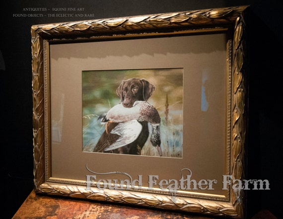 A Framed Giclee Print of an original Painting Entitled The 'Chocolate'