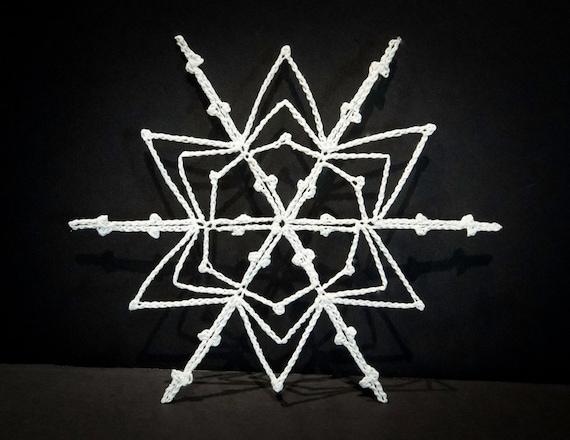 Vintage Handmade Crocheted Christmas Ornament #4