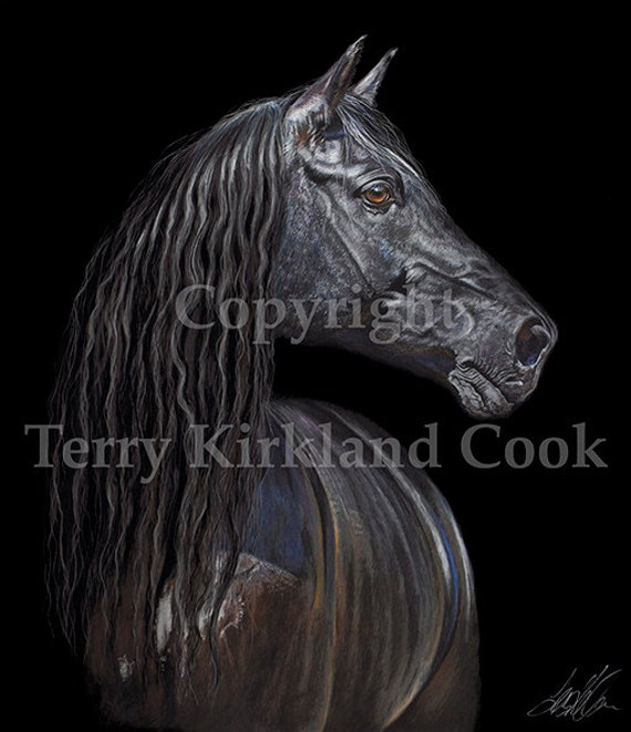 """Fine Art Giclee Print """"Gleam"""" by Terry Kirkland Cook on Fine Art Paper or Canvas"""