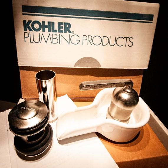 White Porcelain Kohler Waterfall Faucet In Original Packaging