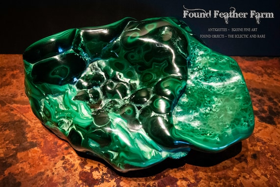 Glorious Extra Large  Malachite Rock Specimen