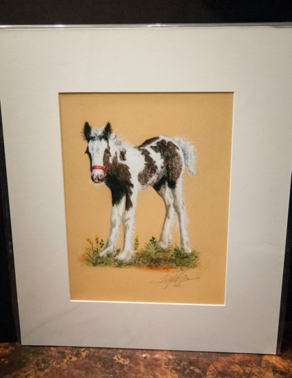 """Fine Art Giclee Print by Terry Kirkland Cook """"The Red Halter"""""""