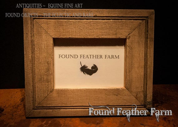 Handmade 5 x 7 Photo Frame Made From Beautiful Antique Reclaimed Wood Molding
