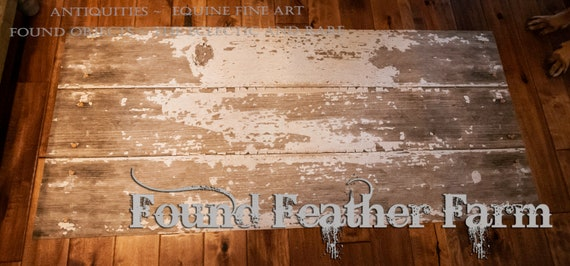 Fabulous Farmhouse Faux Chippy Painted Barnwood Rug ~ Colorfast, Machine Washable and Non Skid