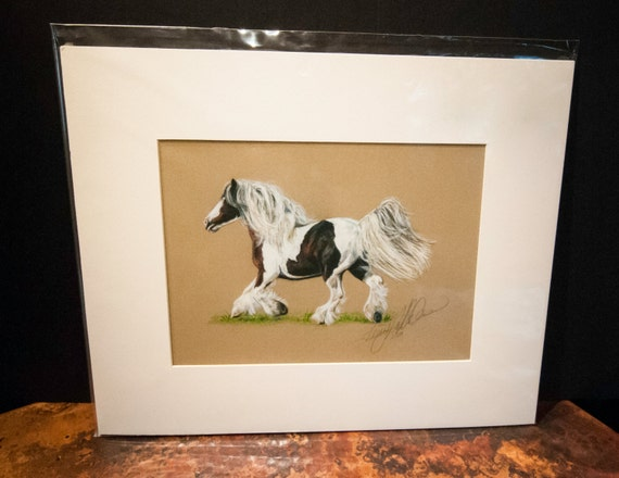 "Fine Art Giclee Print by Terry Kirkland Cook ""Gypsy Mare Bronwyn"""