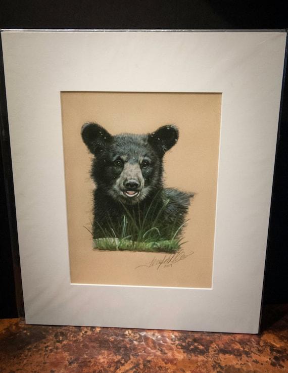 "Fine Art Giclee Print by Terry Kirkland Cook ""Black Bear Cub"""