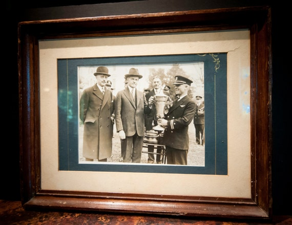 Antique Photo of Calvin Coolidge Circa 1928