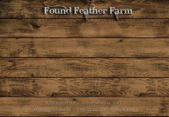 Fabulous Farmhouse Faux Dark Plank Wood Rug ~ Colorfast, Machine Washable and Non Skid