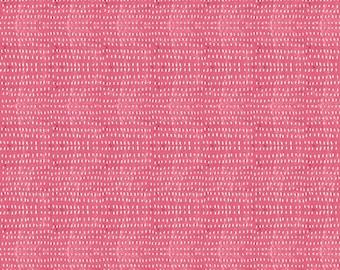 Blend Fabrics-Seeds Carnation Fabric by Cori Dantini -One Yard Cut-Basic Hot Pink Seed Fabric, Blender fabric, Hot Pink Fabric, 112.114.02
