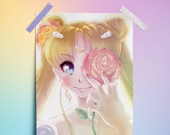 "Princess Serenity (Sailor Moon) - 11"" x 17"" Print"