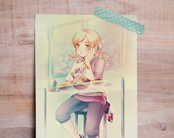 "Madoka Magica (Mami) - Mini Print 5""x7"""