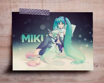 """Append Miku - Mini Print 7""""x5"""""""