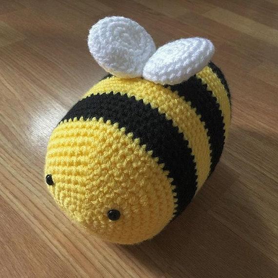 Crochet Bee Pattern Bumble Bee