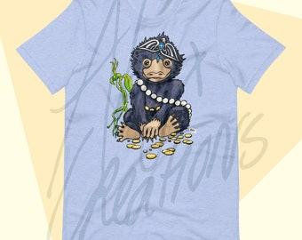 Magical Creatures UNISEX T-shirt - for men and women - Gold Digger - Lockpicker