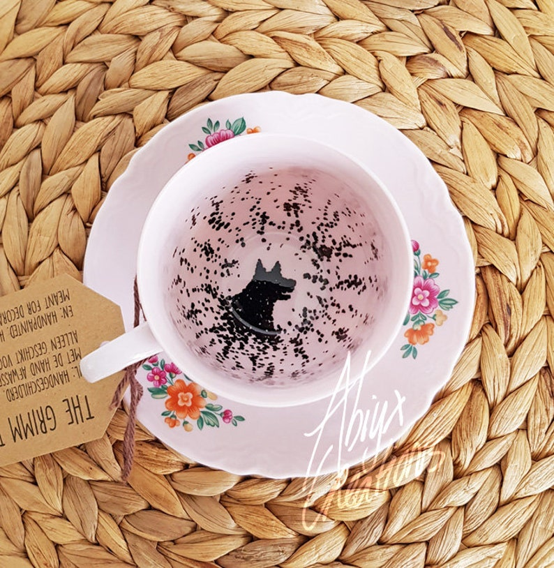 My dear.. You have the Grimm  Teacup & Saucer  Harry Potter image 0