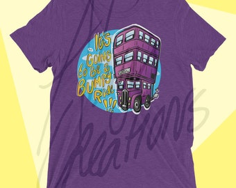 Nothing Underwater UNISEX T-shirt - for men and women - Magical Transport - Wizardry - Wizard - Bus