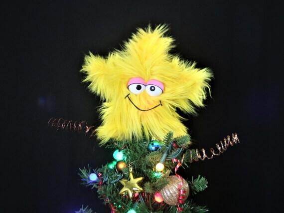 Christmas Tree Topper - Tree Topper - Star Tree Topper - Muppet Style  Christmas - Muppet Christmas - Christmas Tree Topper Tree Topper Star Tree Topper Etsy