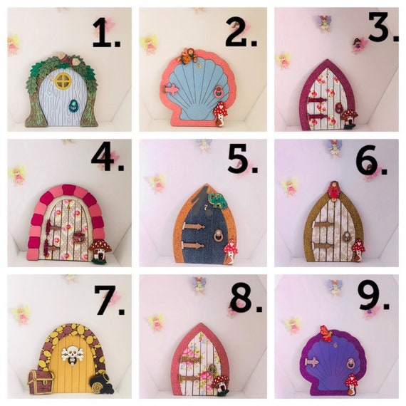 Pre Made Fairy Doors Quick Delivery Fairies Childrens