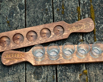 Engraved beer tasting tray, beer flight tray, beer lover gift, beer tasting holder, craft beer tasting flight, gift for him, beer lover gift