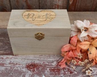 Personalized Recipe Box, Recipe Box, Wedding Gift, Daughter in Law Gift, Son in Law Gift, Recipe Card Box, Bride Gift, Painted Recipe Box
