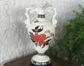 Imari Vase by James Kent Old Foley quot Eastern Glory quot Chinois 牡丹 Botan 花王 Kaou Pioen Peony Blossoms 蝶 Butterflies Chinoiserie England Free S H