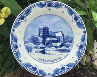 Pottery & Glass Delft Modest Porceleyne Fles Delft Tile Delf
