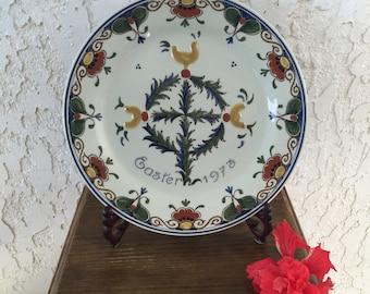 Art Pottery Pottery & China Modest Porceleyne Fles Delft Tile Delf