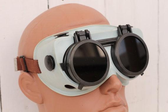 USSR Welders Vintage Soviet Welders Glasses safety glasses 1950s Steampunk