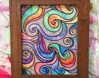 Swirly Hearted