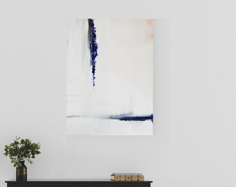 Textured Acrylic abstract wall art by Margaret Lipsey. Colorful and expressive artwork for your home or office. - Surface Tension