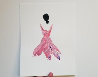 Women of Strength series - Hot Pink 2