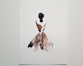Woman in Copper 3