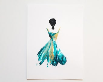 Woman in Turquoise 12