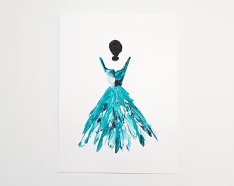 Woman in Turquoise 8